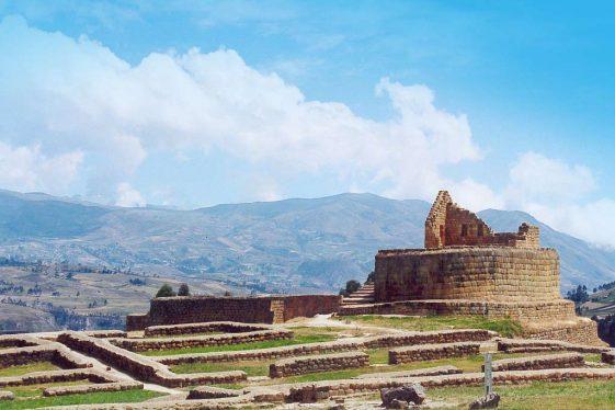 Ecuador Bucket List ride Ancient Inca Ruins dual Sport Motorcycle