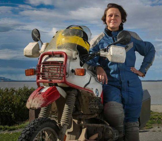 Robyn Kocienski Adventure Motorcycle blogger