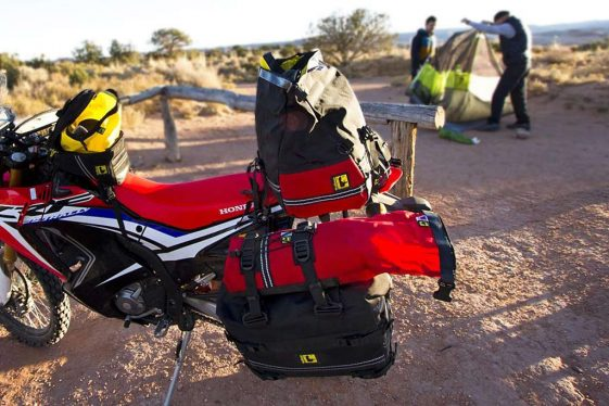 Wolfman Luggage 303 Motorcycle Rolie Bag