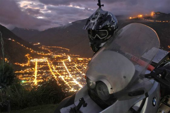 Ecuador Bucket List dual Sport Motorcycle Riding Quito