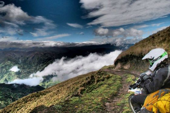 Ecuador Bucket list ride Adventure Motorcycle