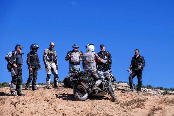 Moab Immersions Tour and Training Motordiscovery Adventure Motorcycle with Bill Dragoo