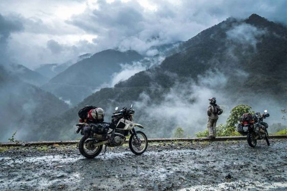 Michnus Olivier and Elsebie Adventure Motorcycle blogs