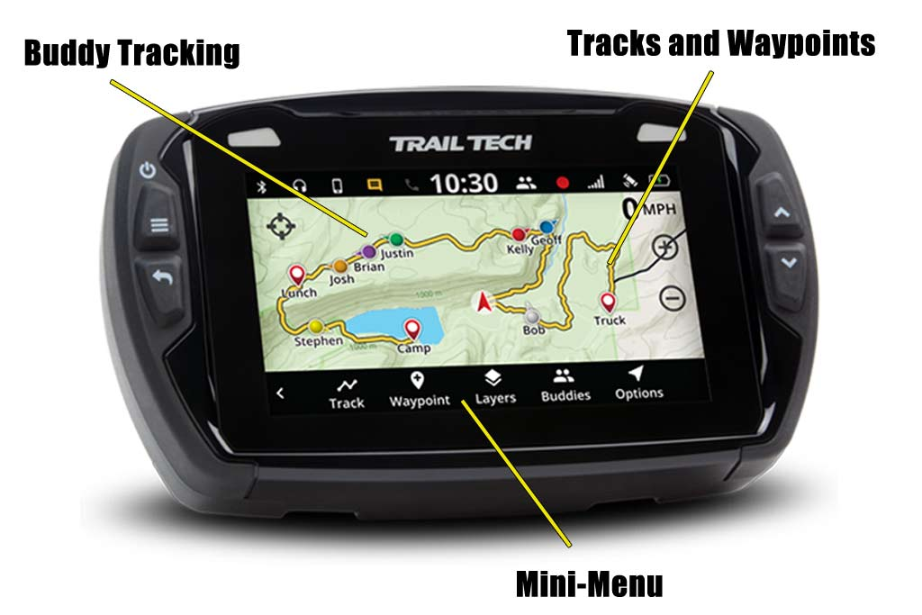 Trail Tech Launches Feature-Packed GPS for ADV Riders - ADV Pulse