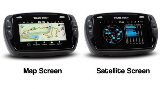 Trail Tech Voyager Pro Dedicated GPS Unit for dual sport Motorcycle