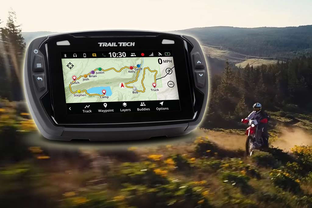 Trail Tech Launches Feature-Packed GPS for ADV Riders - ADV