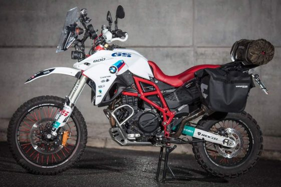 BMW F800GS Round the World Adventure Motorcycle Build