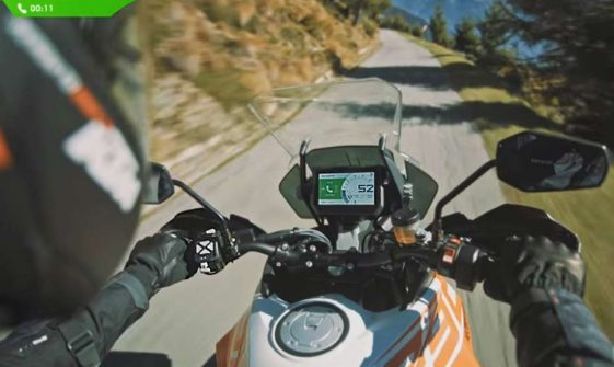 KTM my ride smartphone app Adventure Motorcycle