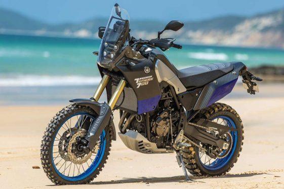 Yamaha Tenere 700 prototype Adventure Motorcycle