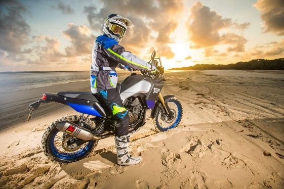 Yamaha Tenere 700 prototype World Raid Tour Adventure Motorcycle