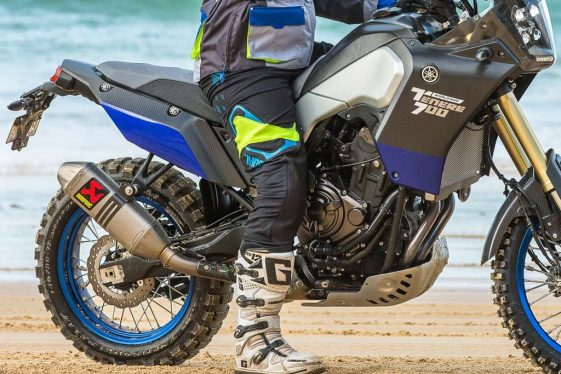 Yamaha Tenere 700 prototype World Raid Tour Adventure Motorcycle
