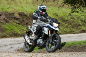 Riding the 2018 BMW G310GS on dirt