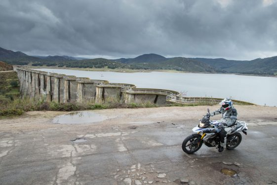 BMW G310GS test