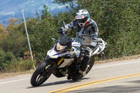 BMW G310GS Street Test