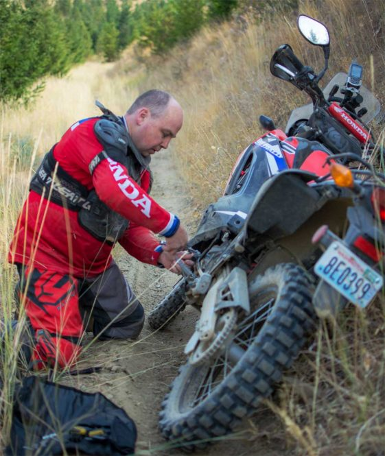 how to work on motorcycles dualsport
