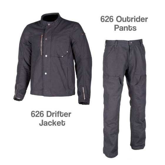 Klim 626 drifter jacket and outrider pants