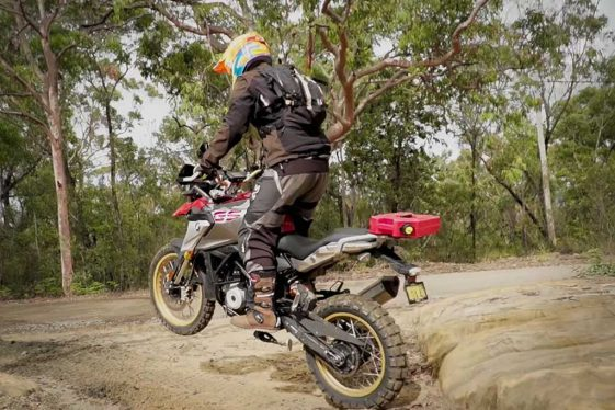 Rally Raid BMW G310GS adventure kit
