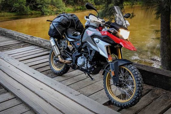 Rally Raid BMW G310GS front forks
