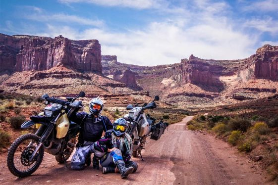 traveling the world as a couple Adventure Motorcycle