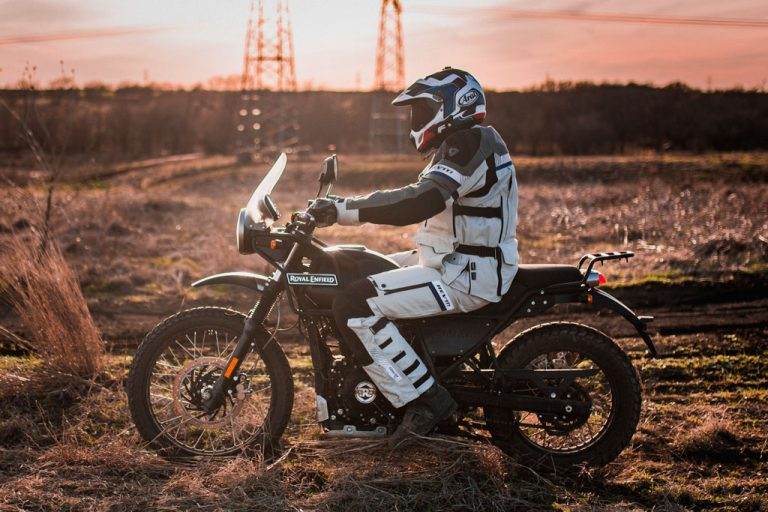Royal Enfield Himalayan off-road ergos