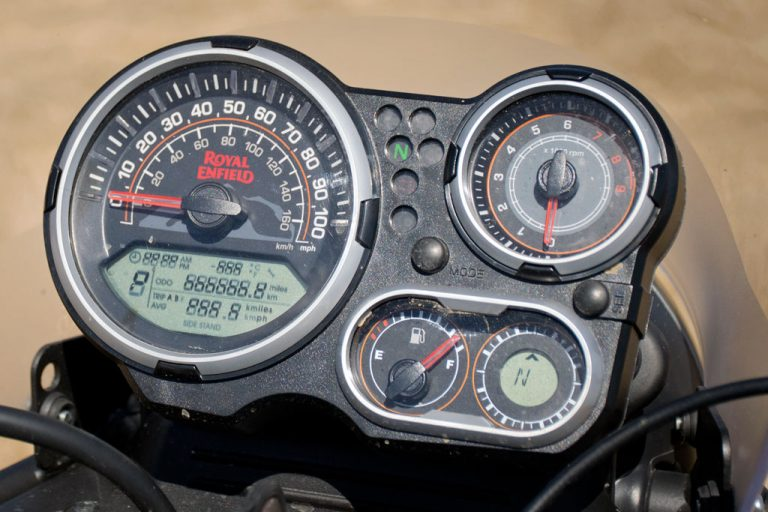 Royal Enfield Himalayan Gauges