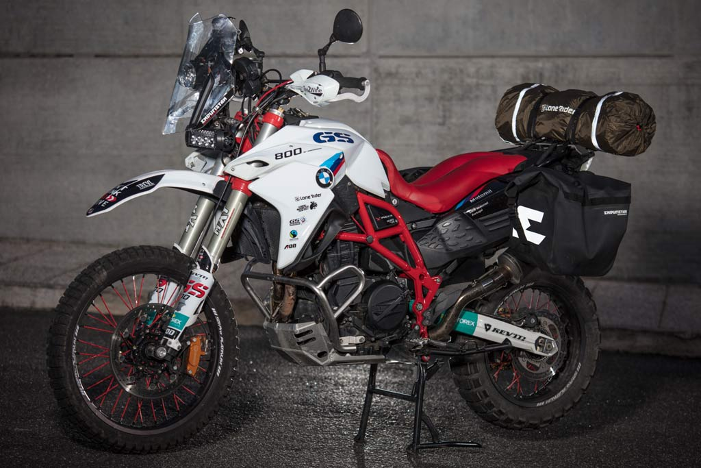 Ultimate BMW F800GS RTW Bike Build Modifications List ...