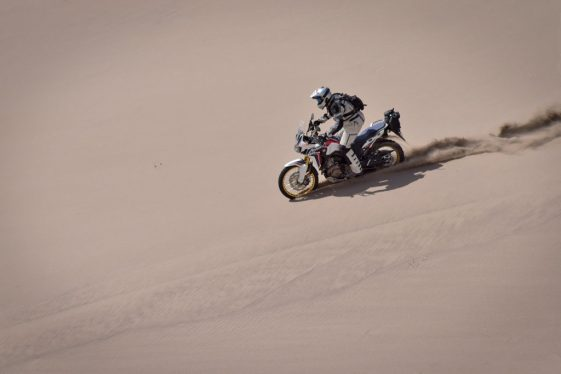 Honda Africa Twin at Taste of Dakar 2018
