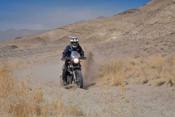 2018 Taste of Dakar on the Royal Enfield Himalayan