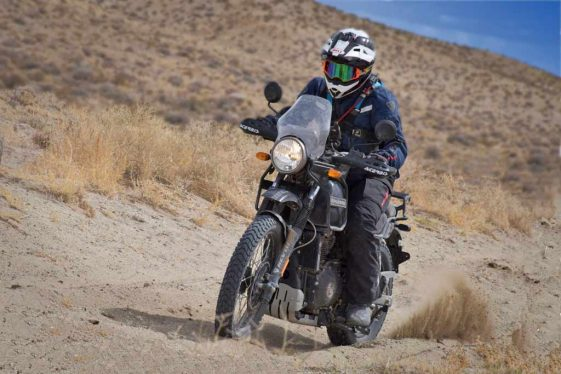 2018 Taste of Dakar on the Royal Enfield Himalayan Adventure Motorcycle