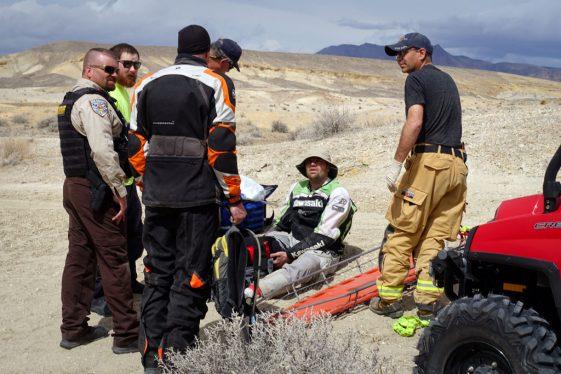 AltRider Taste of Dakar - Emergency medical Help