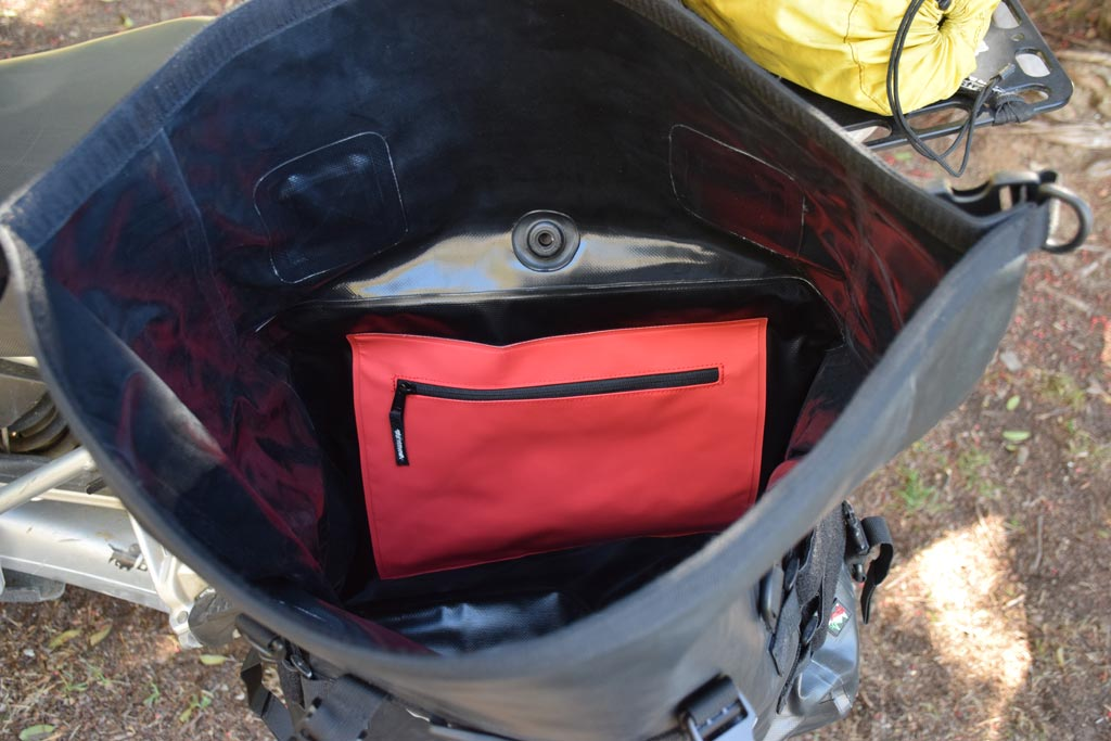 Amphibious Adventure Motorcycle Soft Luggage