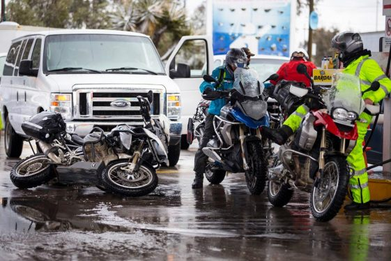 Amphibious Adventure Motorcycle Soft Luggage