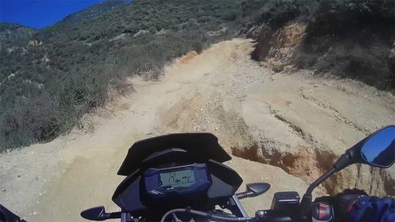 BMW G310GS Adventure Motorcycle Dirt Test
