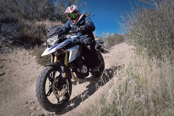 BMW G310GS Adventure Motorcycle Offroad Test