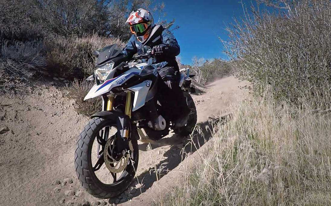 VIDEO: 2018 BMW G310GS Dirt Test Review - ADV Pulse