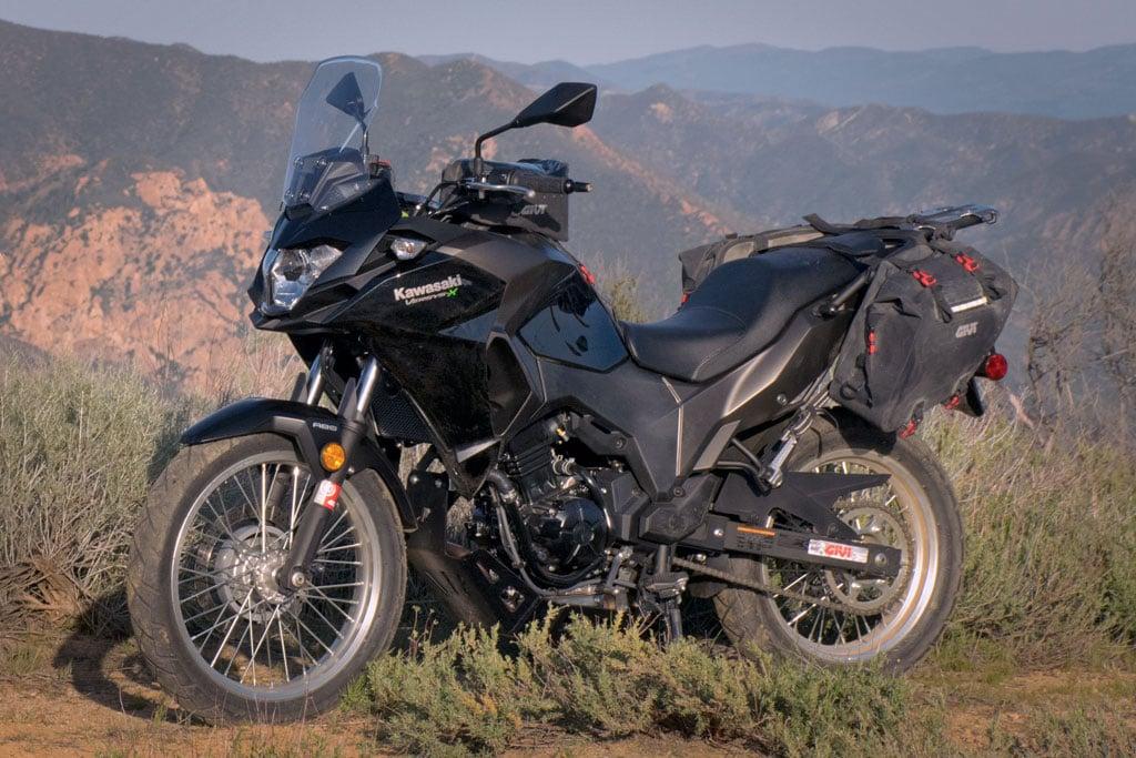2018 Kawasaki Versys X 300 Project Bike Intro Adv Pulse