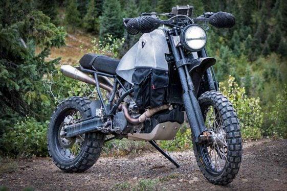 REV'IT! #95 KTM Adventure Motorcycle Build