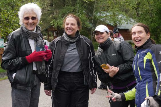 Women Riders Event Flock to the Rock