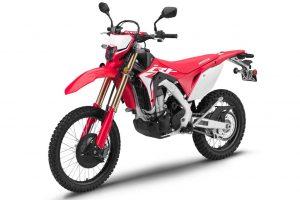 2019 Honda CRF450L dual sport