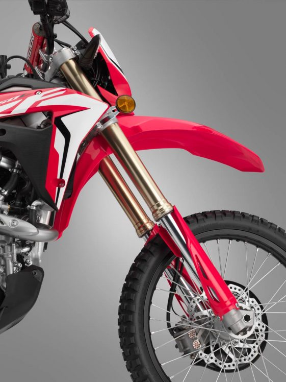 2019 Honda CRF450L Dual Sport Motorcycle chassis