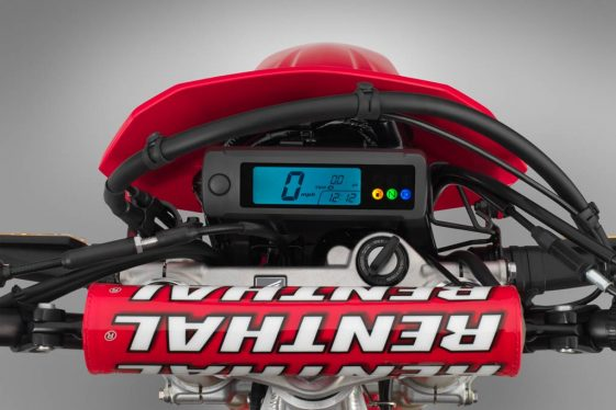 2019 Honda CRF450L Dual Sport Motorcycle digital dash
