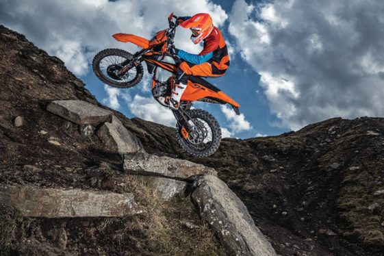 KTM 500 EXC-F Adventure Motorcycle