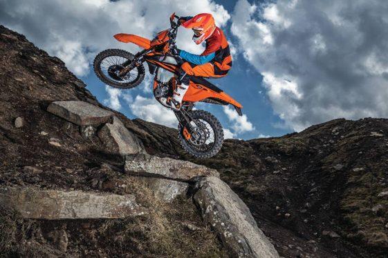 KTM 500 EXC-F Adventure Motorcycle