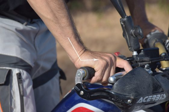 Adventure Motorcycle levers