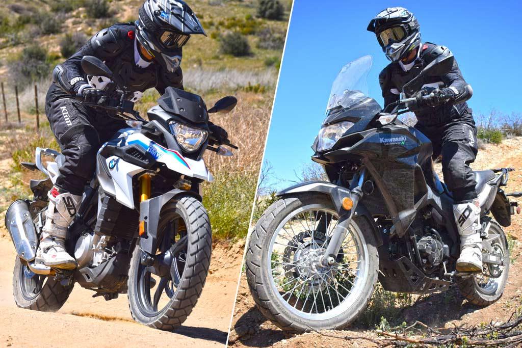 Small ADV Matchup: BMW G310GS vs Kawasaki Versys-X 300 - ADV