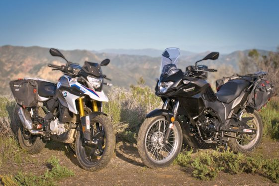 BMW G310GS vs Kawasaki Versys-X 300