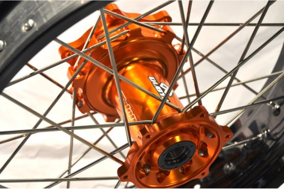 Adventure Motorcycle wheels