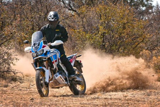 Africa Twin Adventure Sports off-road