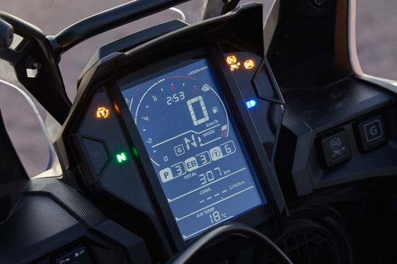 Honda Africa Twin CRF1000L2 Adventure Sports digital dash