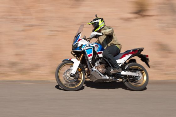 Africa Twin Adventure Sports performance